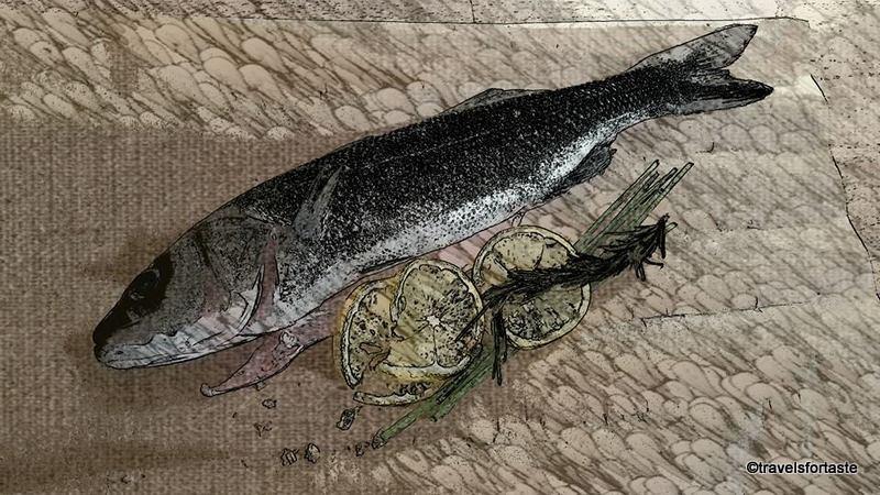 Whole Sea Bass