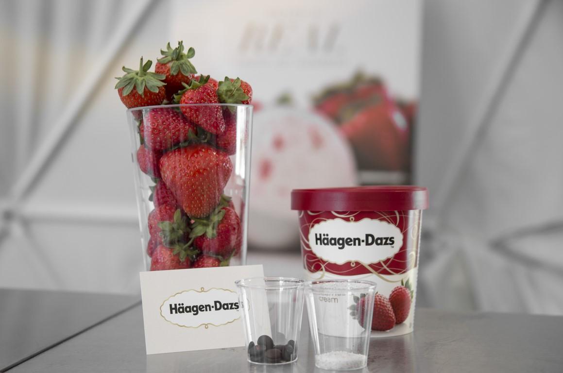 Häagen-Dazs strawberries and cream ice cream